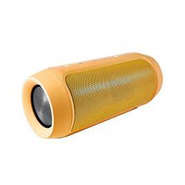 Boxa portabila wireless bluetooth cu port usb si slot card sd, charge 2+, rezistenta la apa, culoare portocaliu