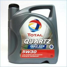 Ulei  total quartz 5w30 ineo ecs - 4 litri kft auto