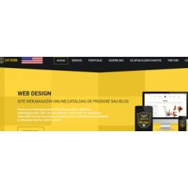 Pachet servicii Web Design - Site prezentare BASIC