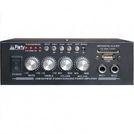 Amplificator karaoke 50w 2 canale 8 ohmi, bluetooth, usb, aux