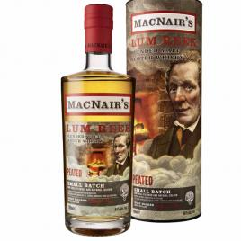 Macnairs lum reek peated, whisky, 0.7l