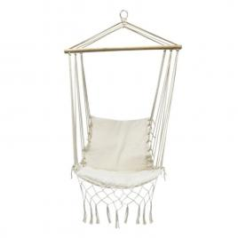 Hamac brazilian tip scaun deluxe pentru casa, curte sau gradina, capacitate 120kg, multicolor