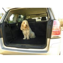 Plasa separatoare caine carpoint 130x87cm din nylon extra rezistent , pentru delimitarea portbagajului masinii de bancheta din spate kft auto