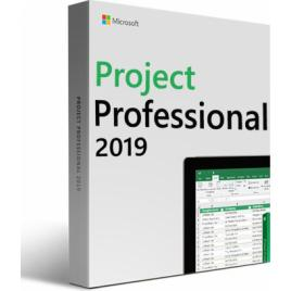 Microsoft Project Professional 2019 retail 32/64 bit licenta electronica