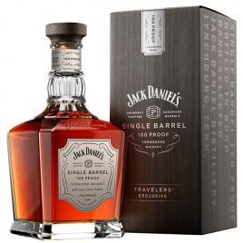 Jack daniel's single barrel 100 proof, whisky, 0.7l