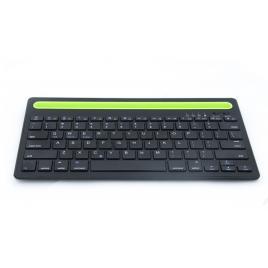 Mini Tastatura CK-03, Universala 2 in 1, Suport Integrat, Smartphone, Tableta, PC, BT 3.0, Android, Ios, Windows, Macbook, Negru