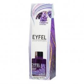 Odorizant cameră Eyfel cu bețișoare, LAVANDA 120 ml.