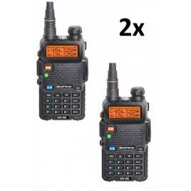 Kit 2x Baofeng UV-5R
