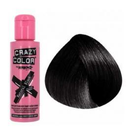 Crazy color vopsea nuantatoare semipermanenta 100 ml -  black  nr.0.30