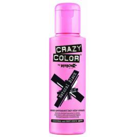 Crazy color vopsea nuantatoare semipermanenta 100 ml -  natural black nr.0.32