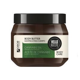 Unt  pentru corp hello nature  cu ulei bio de cnabis pentru flexibilitate & relaxarea  pielii .250 ml  cod 1536.