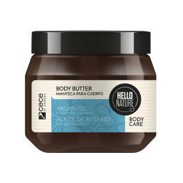 Unt pentru corp  bio  hello nature cu ulei bio de argan pentru netezirea si hidratarea pielii. cod 1544 .250 ml.
