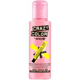 Crazy color neon–vopsea crema demipermanenta caution uv galben nr.77/100 ml
