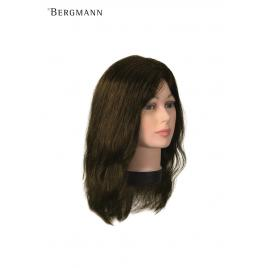Manechin profesional bergmann 100 % par natural uman teeny natura 35 cm cod.091047