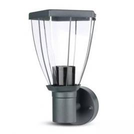 Lampa de gradina montaj perete soclu e27 - negru