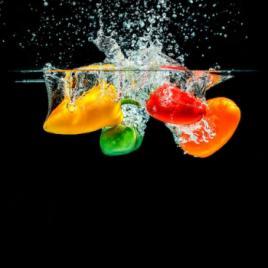 Panou sticla decorativa bucatarie protectie aragaz antistropire Print UV octopus imprimata Multicolor 950mmx650mm oct103-95x65