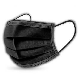 Set de 50 de masti protectie cu 3 pliuri, de unica folosinta, usor de respirat
