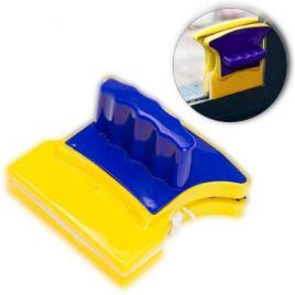 Stergator magnetic cu doua parti, pentru curatarea geamurilor, prindere...