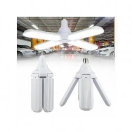 Lampa led, cu 4 brate mobile, ajustabile, tip ventilator, 60w, 6500k