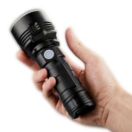 Lanterna led profesionala, ultra luminoasa, rezistenta la apa, zoom puternic, 3...