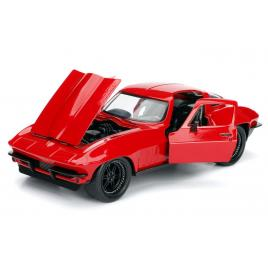 Masinuta metalica fast and furious 1966 chevy corvette scara 1:24