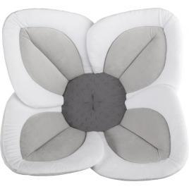 Cadita de plus si salteluta de joaca lotus bloomingbath alb/gri deschis/gri inchis bb105l