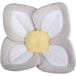 Cadita de plus si salteluta de joaca lotus bloomingbath gri/alb/galben bb105l