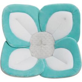 Cadita de plus si salteluta de joaca lotus bloomingbath turcoaz/alb/gri deschis bb105l