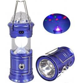 Felinar Led si RGB Disco cu Lanterna si USB