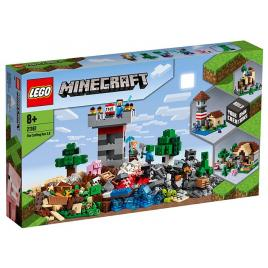 Lego minecraft - cutie de crafting 3.0 (21161)