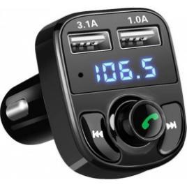 Bluetooth Handsfree Fm Transmitter Car Kit