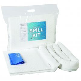 Kit Oil Only de interventie rapida pentru scurgeri de produse petroliere - 50L alb