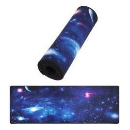 Mousepad cu baza Cauciucata Anti-alunecare 88 x 30 cm model Galaxy