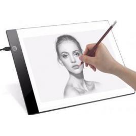 Suport platforma Andyluc iluminata LED pentru desen schite proiecte radiografii tatuaje format A4
