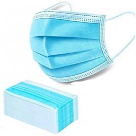 Pachet 10 cutii a cate  50 de masti / cutie , cu protectie medicala pentru copii, avizate, BFE ≥95%, culoare albastra