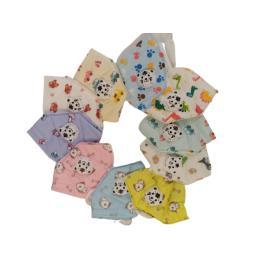 Set de 100 de  masti faciale pentru copii cu 5 straturi si supapa, ambalate individual, modele diferite
