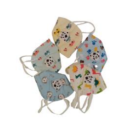 Set de 5 masti faciale pentru copii cu 5 straturi si supapa, ambalate individual, model diferite