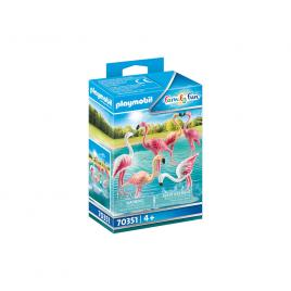 Set figurine flamingo playmobil family fun