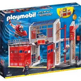 Playmobil city action - statie de pompieri