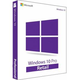 Windows 10 Pro RETAIL - 3264 bit - livrare electronica rapida + tutorial video - windows FULL