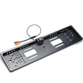 Camera video auto marsarier integrata in suport de numar,jx 9488