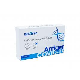 Test rapid antigen SALIVA COVID19 SARS-CoV2 1 buc cutie