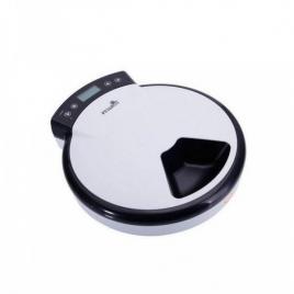Dispenser de mancare automat pf-105 pentru animale de companie, 5 compartimente, alb