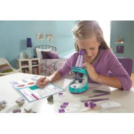 Microscop cu jurnal de activitati - educational insights