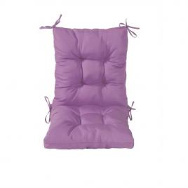 Perna sezut/spatar pentru scaun de gradina sau balansoar, 50x50x55 cm, culoare mov