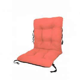 Perna sezut/spatar pentru scaun de gradina sau balansoar, 50x50x55 cm, culoare orange