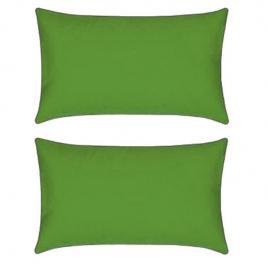 Set 2 perne decorative dreptunghiulare mania relax, din bumbac, 50x70 cm, culoare verde