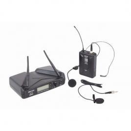 Set radiomicrofon cu headset si lavaliera, PLL / UHF, 16 canale, WM700H, Proel