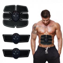Aparat fitness EMS, Kit centura electrostimulare, cu trei piese