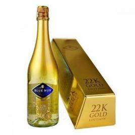 Blue nun sparkling gold ghift box lingou, spumant, 0.75l
